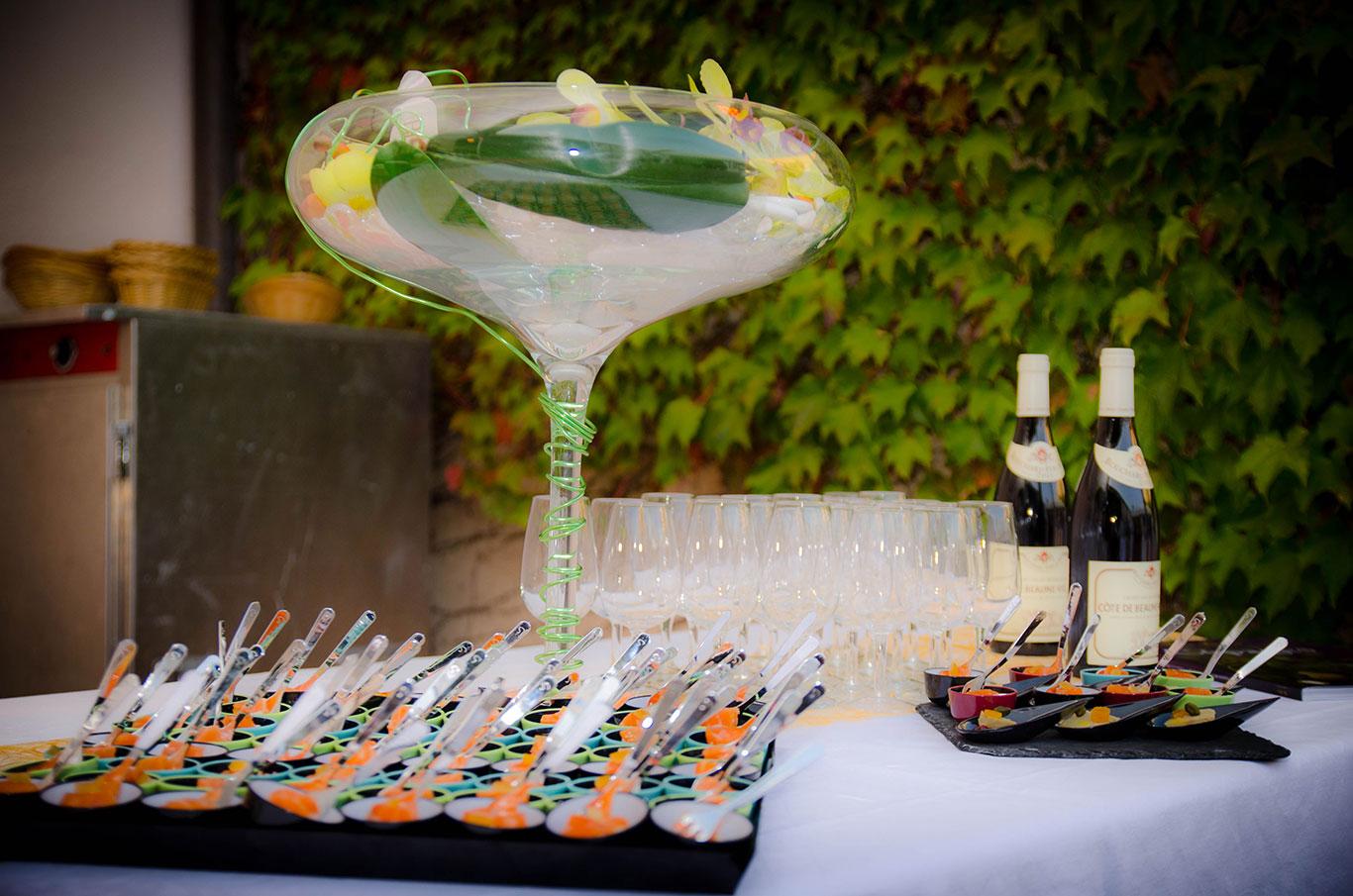 traiteur mariage cocktail aperitif vin d'honneur buffet