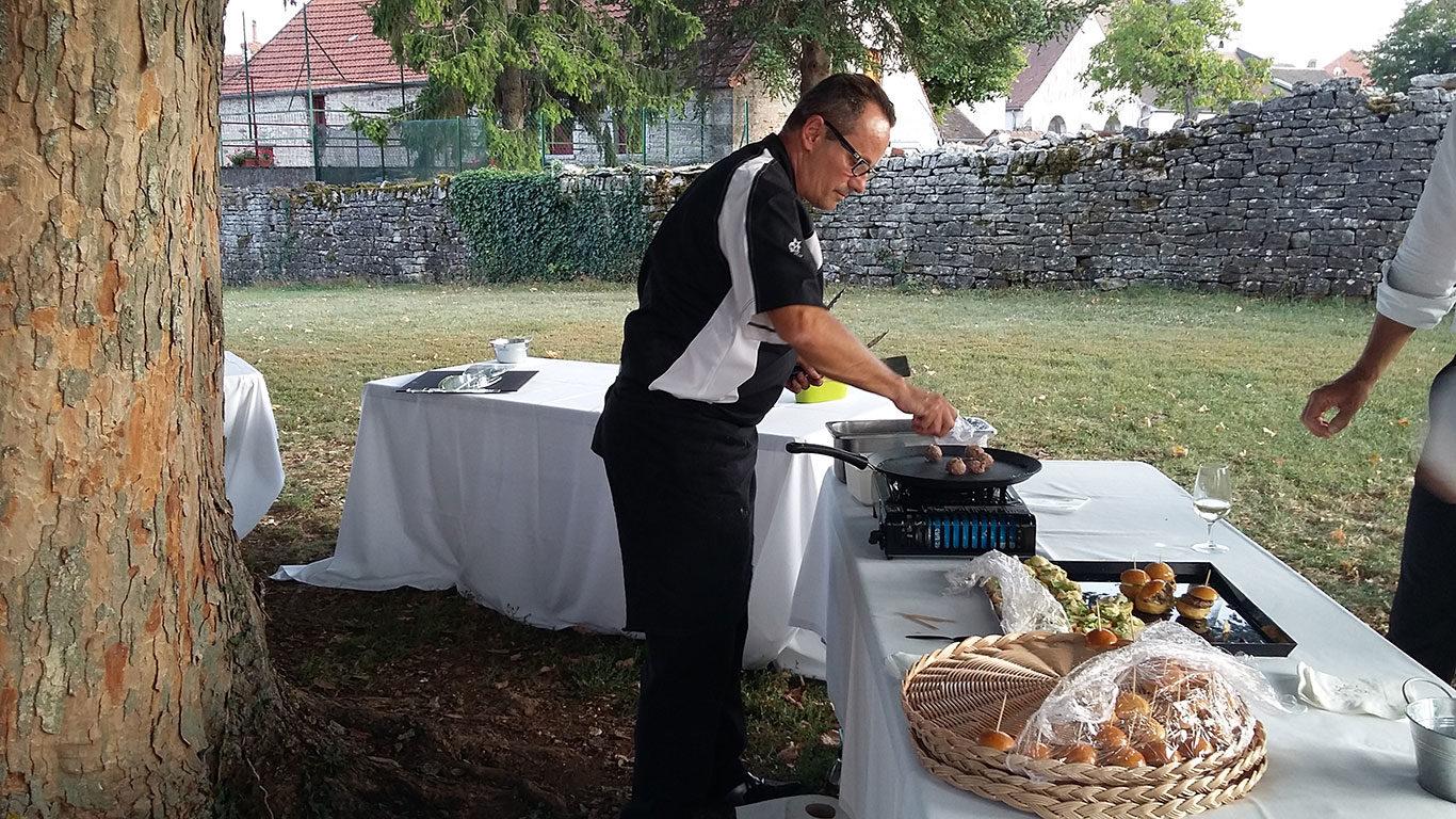 traiteur cocktail mariage animation cuisinier
