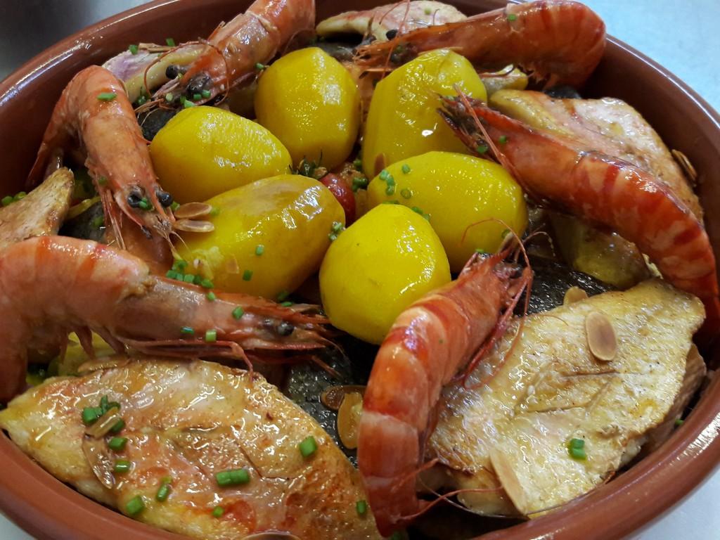 Tajine de la mer traiteur plats préparés à emporter traiteur réception menu mariage