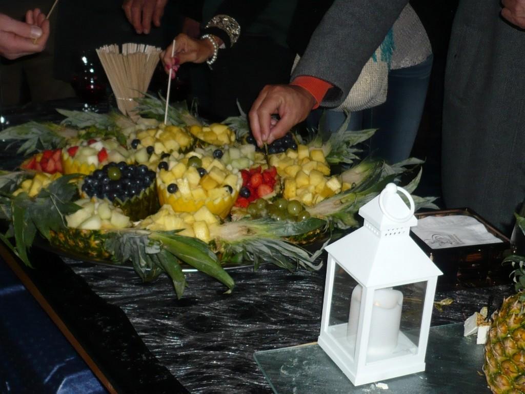 Ananas cocktail apéritif traiteur réception